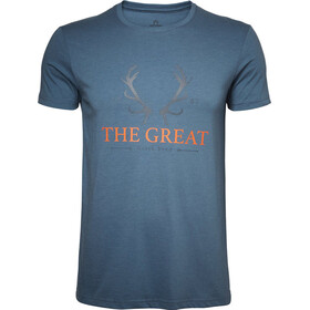 North Bend Vertical - Camiseta manga corta Hombre - azul